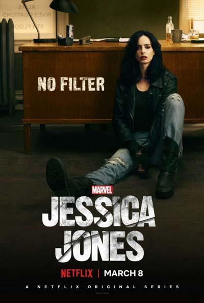 Джессика Джонс (2018) постер