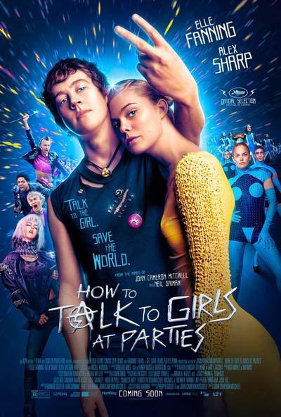 Как разговаривать с девушками на вечеринках (2017) постер