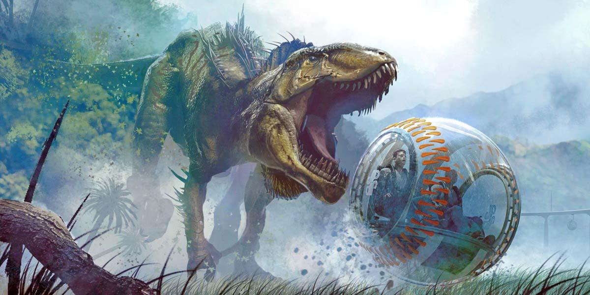 "Игра ""Jurassic World Evolution"" (2018)"