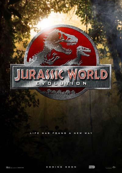 Jurassic World Evolution (2018) постер