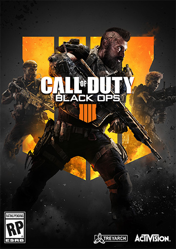 Call of Duty: Black Ops 4 (2018) постер
