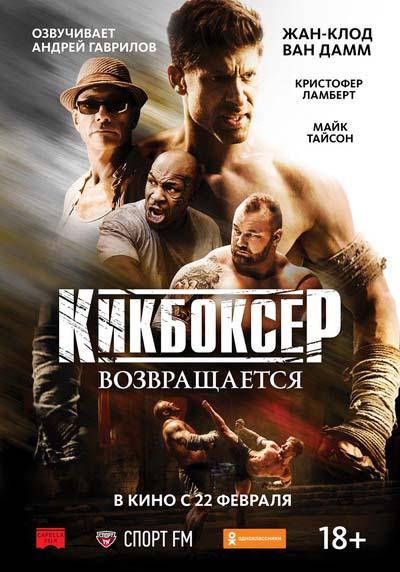 Кикбоксер возвращается (2018) постер