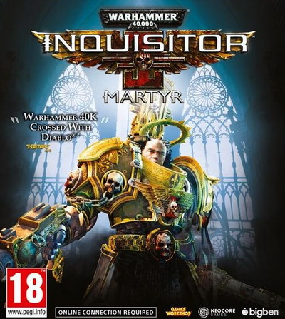 Warhammer 40K: Inquisitor - Martyr (2018) постер