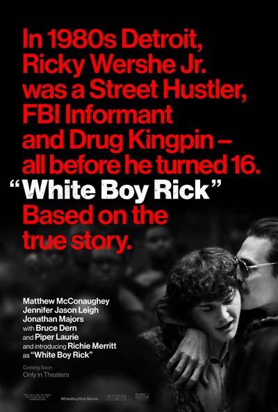 Белый парень Рик (2018) постер