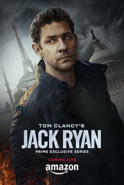 Джек Райан (2018) постер