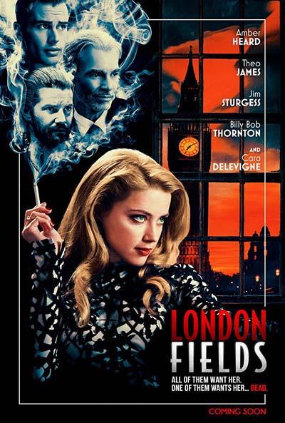 Лондонские поля (2018) постер