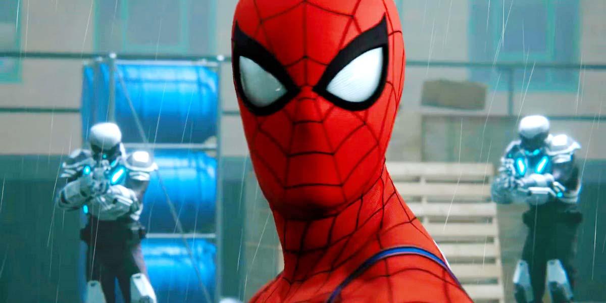 """Игра """"Spider-Man"""" (2018) Постер"""