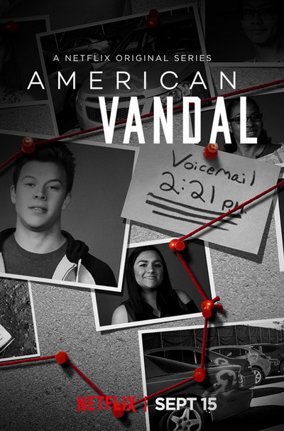 Американский вандал (2018) постер