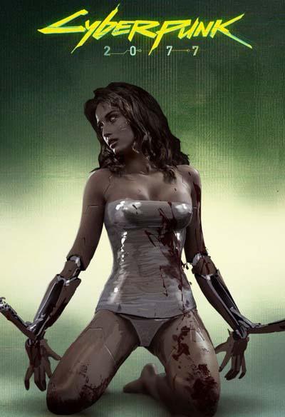Cyberpunk 2077 (2020) постер