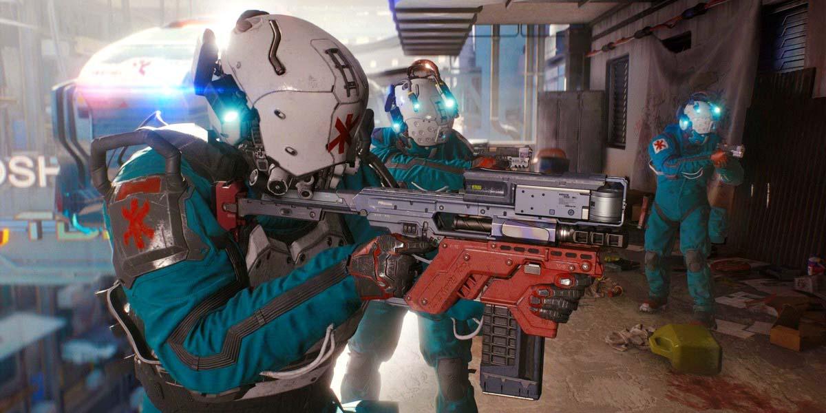 """Игра """"Cyberpunk 2077"""" (2019) - Русский геймпленый трейлер Постер"""