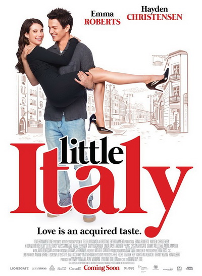 Маленькая Италия (2018) постер
