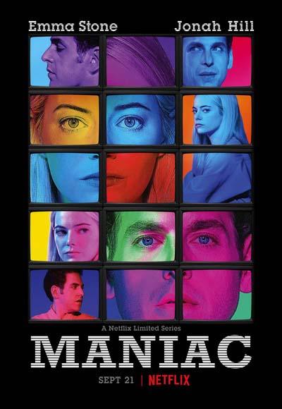Маньяк (2018) постер