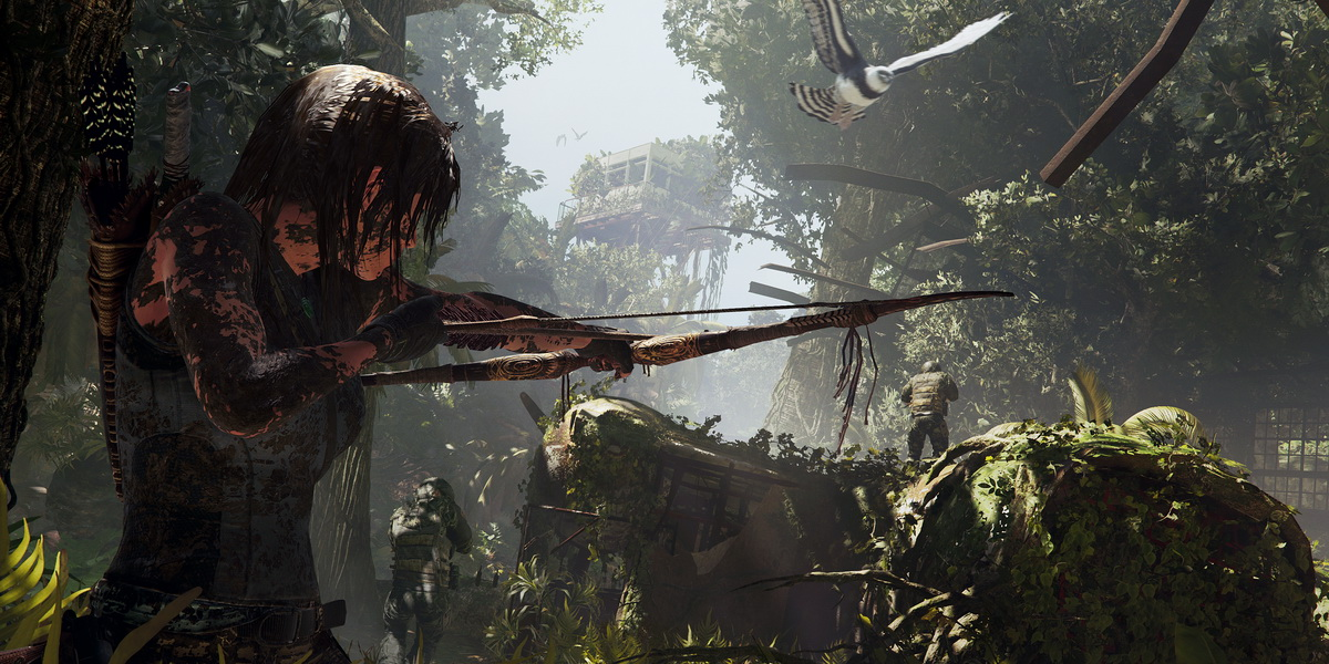 "Игра ""Shadow of the Tomb Raider"" (2018) Постер"