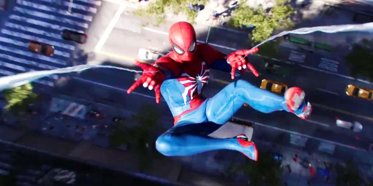 """Игра """"Spider-Man"""" (2018) - Русский релизный трейлер Постер"""