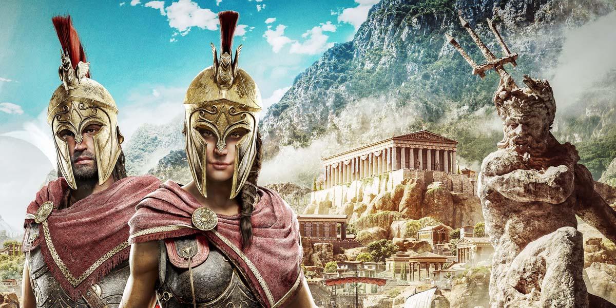 """Игра """"Assassin's Creed: Odyssey"""" (2018) """"Собственный выбор"""" Постер"""