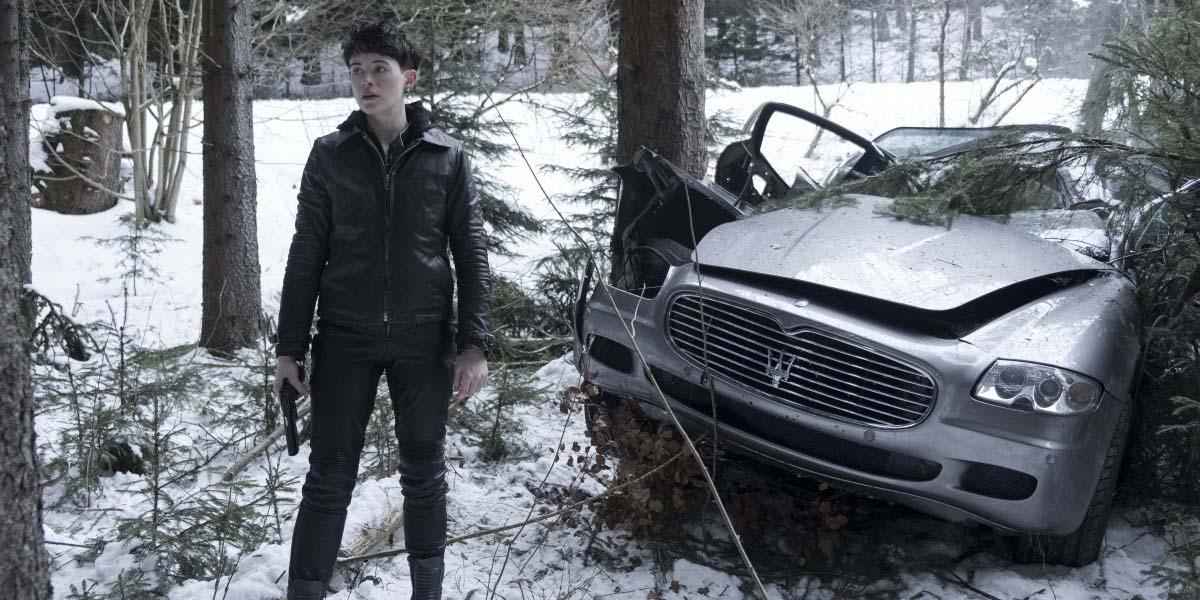 Фильм «Девушка, которая застряла в паутине» (2018) — Русский трейлер 2