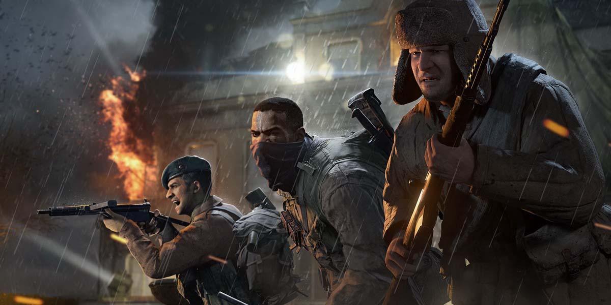 """Игра """"Call of Duty: WWII"""" (2017) Трейлер ополнения """"United Front"""" Постер"""