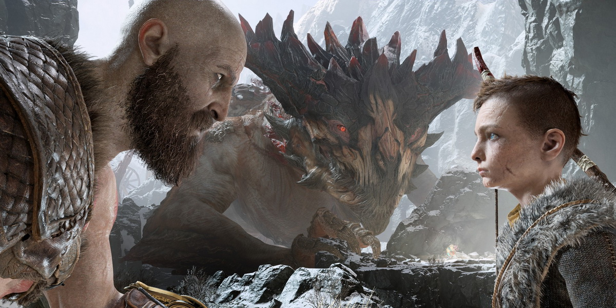 "Игра ""God of War"" (2018) - Постер"