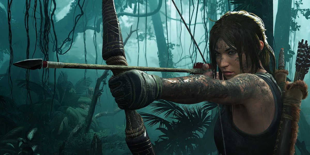 "Игра ""Shadow of the Tomb Raider"" (2018) - Запуск Постер"