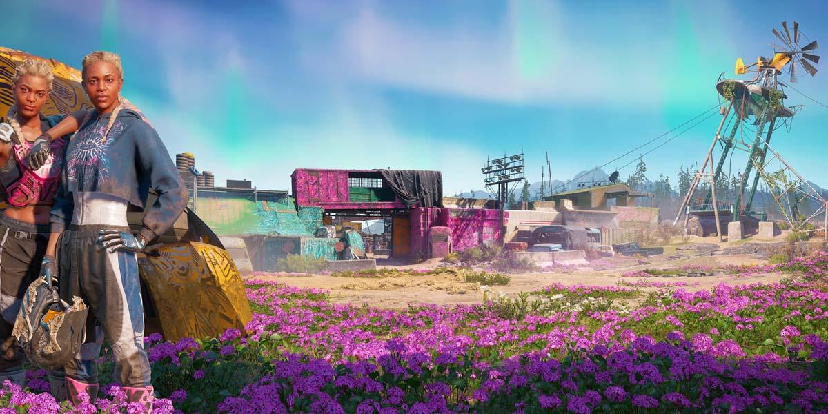 """Игра """"Far Cry New Dawn"""" (2019) - Русский сюжетный трейлер Постер"""