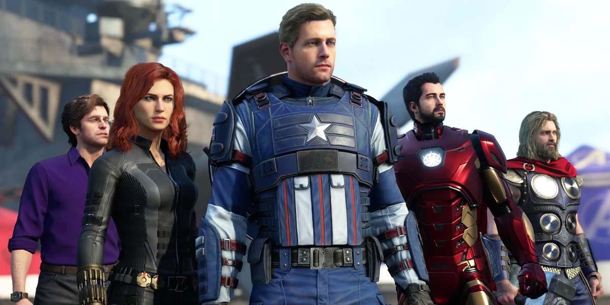 """Игра """"Marvels Avengers"""" (2020) - Русский геймплейный трейлер (Gamescom 2019) Постер"""