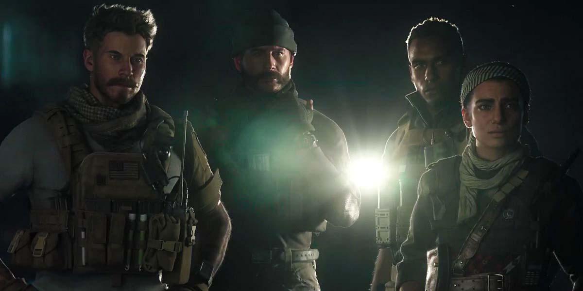 """Игра """"Call of Duty: Modern Warfare"""" (2019) - Русский сюжетный трейлер Постер"""