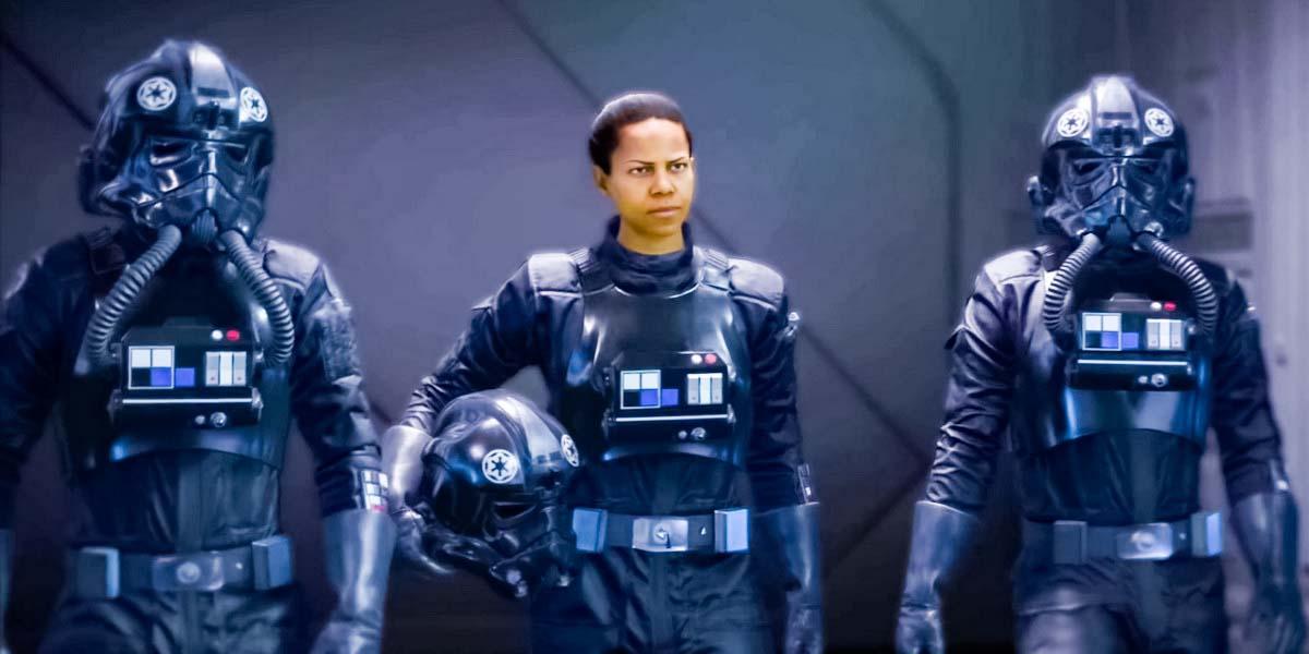 """Игра """"Star Wars: Squadrons"""" (2020) - Русский геймплейный трейлер Постер"""