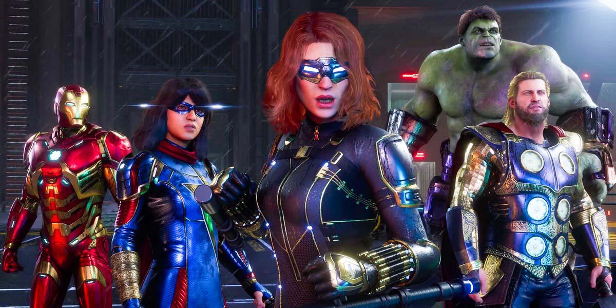 """Игра """"Marvels Avengers"""" (2020)"""
