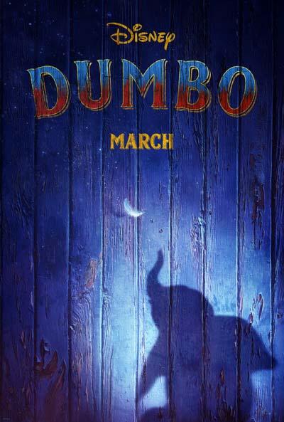 Дамбо (2019) постер
