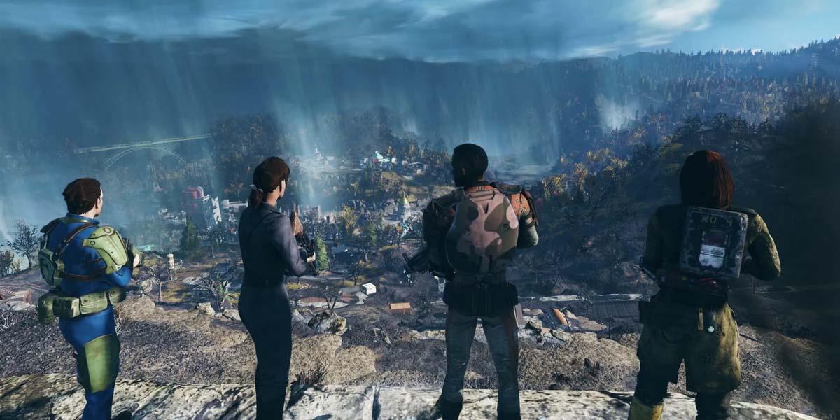 """Игра """"Fallout 76"""" (2018) Постер"""