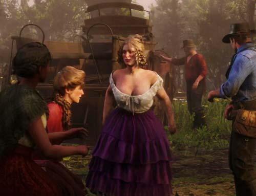 Игра «Red Dead Redemption 2» (2018) — Русский геймплейный трейлер 2