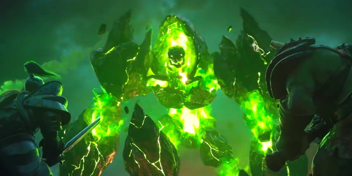 "Игра ""Warcraft III: Reforged"" (2019) Постер"