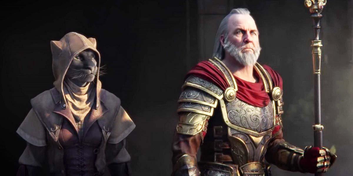 "Игра ""The Elder Scrolls Online: Elsweyr"" (2019) постер"