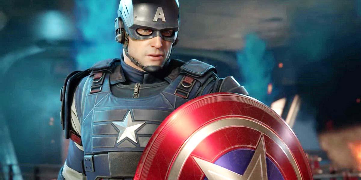 """Игра """"Marvel's Avengers"""" (2020) Постер"""