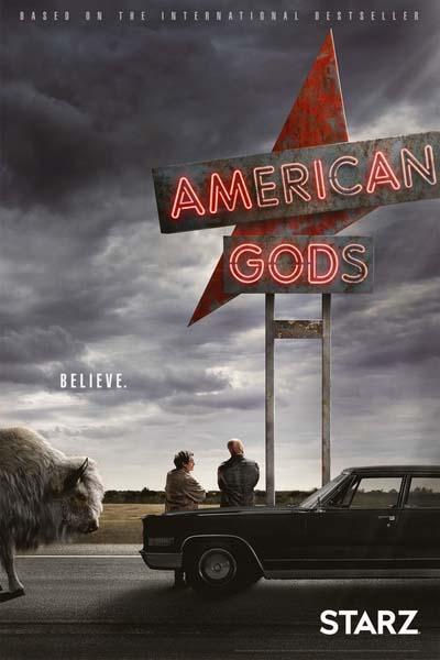 Американские боги (2019) постер
