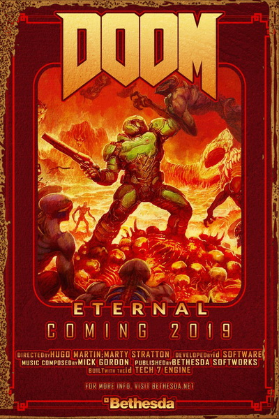 Doom: Eternal (2020) постер