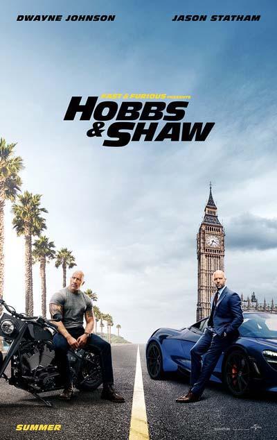 Форсаж: Хоббс и Шоу (2019) постер
