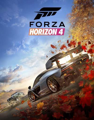 Forza Horizon 4 (2018) постер