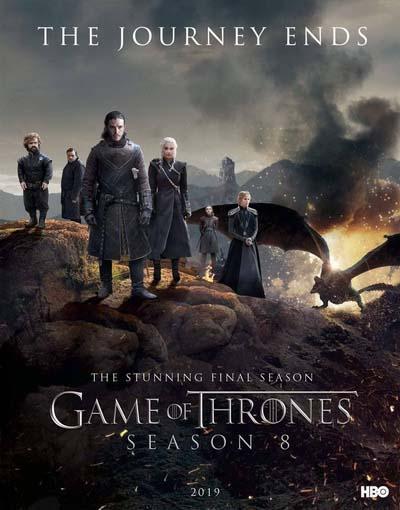 Игра престолов (2019) постер