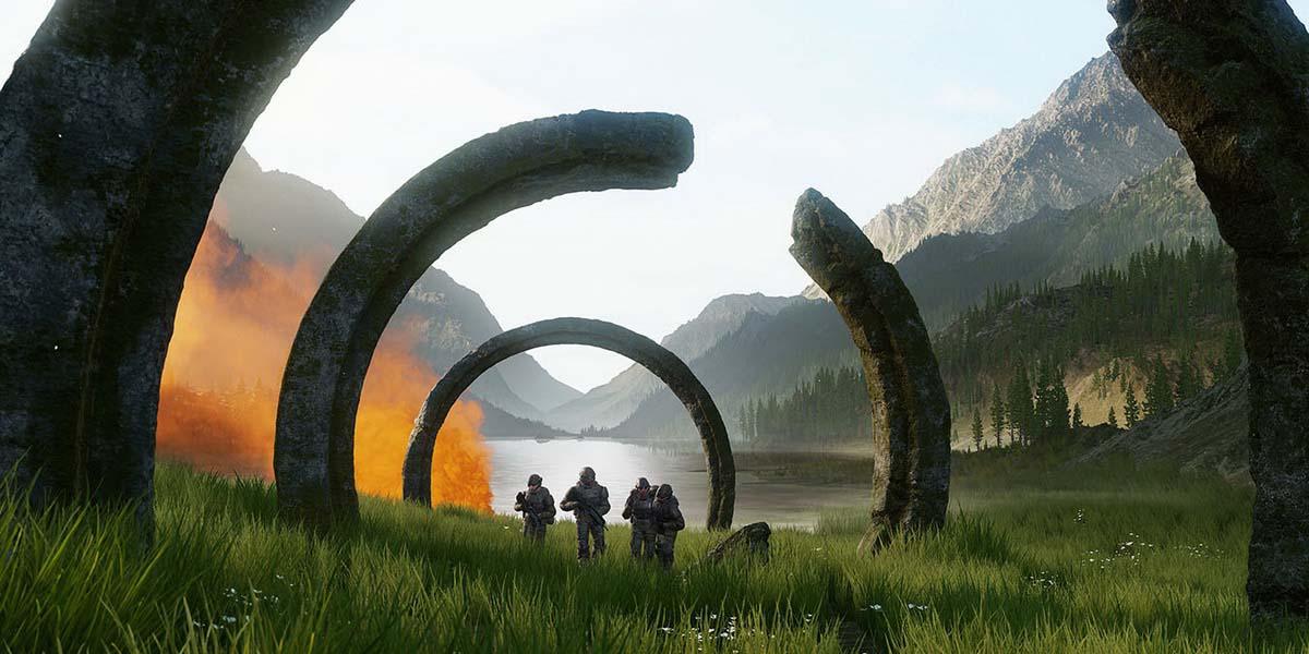 """Игра """"Halo Infinite"""" Постер"""