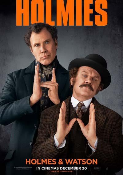 Холмс и Ватсон (2019) постер