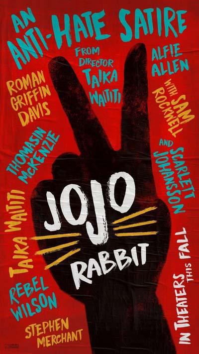 Кролик Джоджо (2019) постер