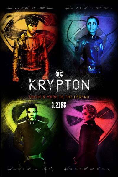 Криптон (2018) постер
