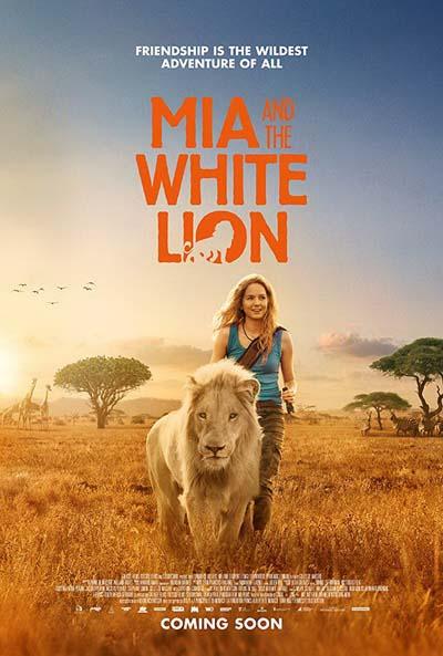 Девочка Миа и белый лев (2018) постер