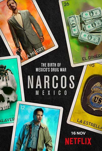 Нарко: Мексика (2018) постер