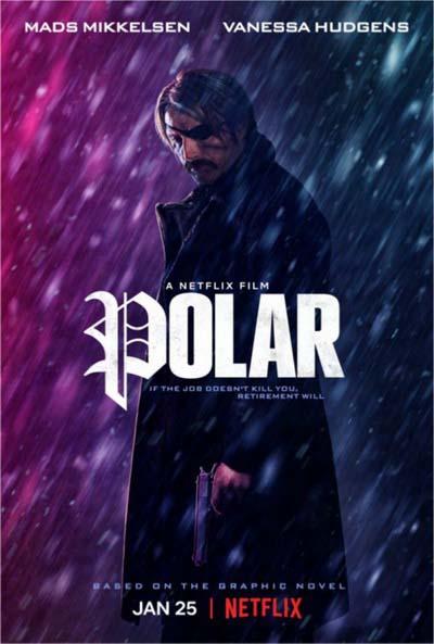 Полярный (2019) постер