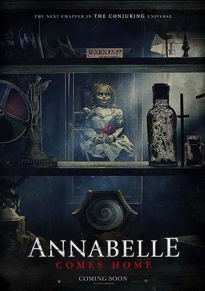 Проклятие Аннабель 3 (2019) постер
