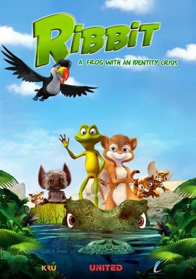 Лягушонок Риббит (2018) постер