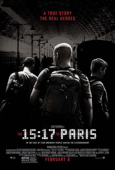 Поезд на Париж (2018) постер