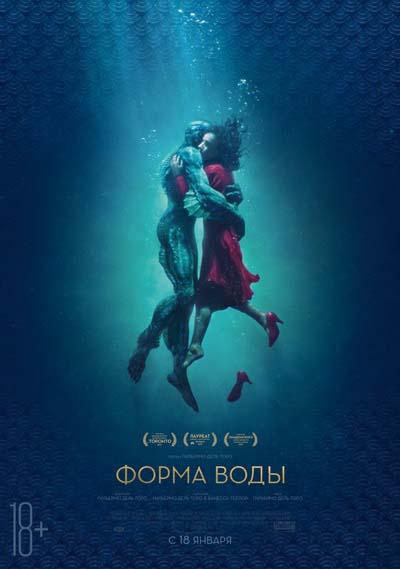 Форма воды (2018) постер